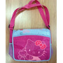 Hello Kitty Espectacular Bolso Mensajero Escolar Original