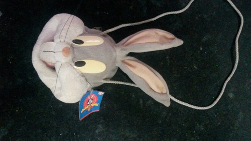 carterita cartera peluche bugs bunny original lonney tunes