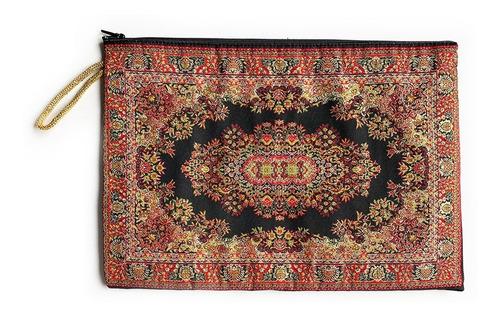 carterita grande con diseños de tapete turco