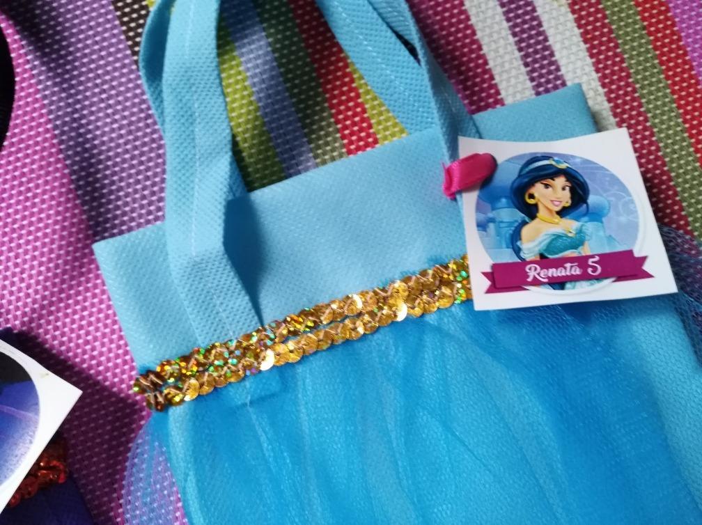 62277f277 Carterita Souvenir Princesa Jazmin Cumpleaños Bolsita - $ 50,00 en ...