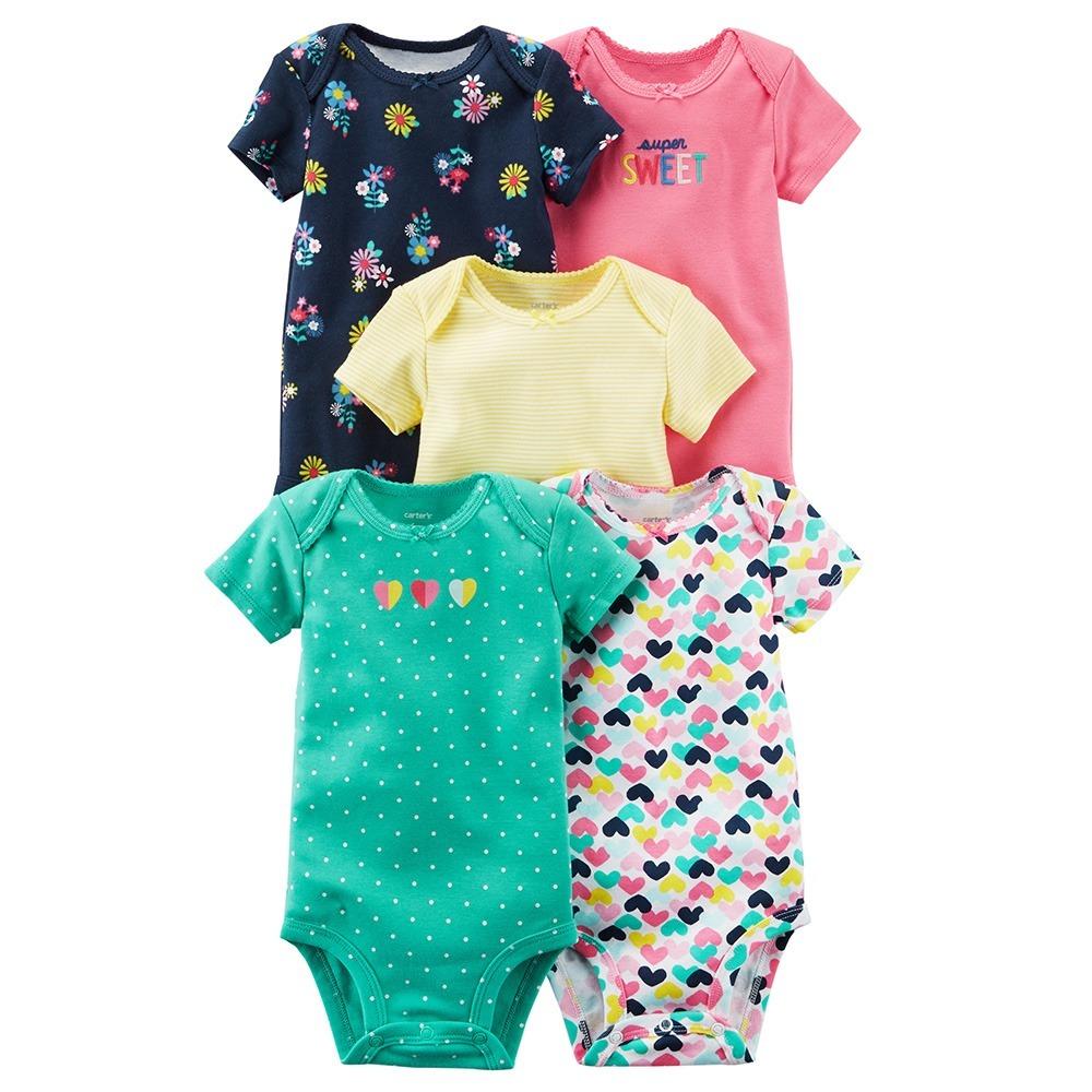 Carters 5 Bodies 12 Meses Ropa Bebè Nena Body Carter s -   999 7f500a45f434