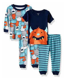 Carters Baby Boys 4 Pc Cotton 321g082