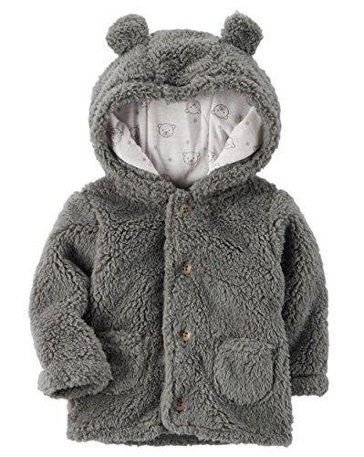 6b8bb515c Carters Baby Con Capucha Sherpa Jacket (recién Nacido