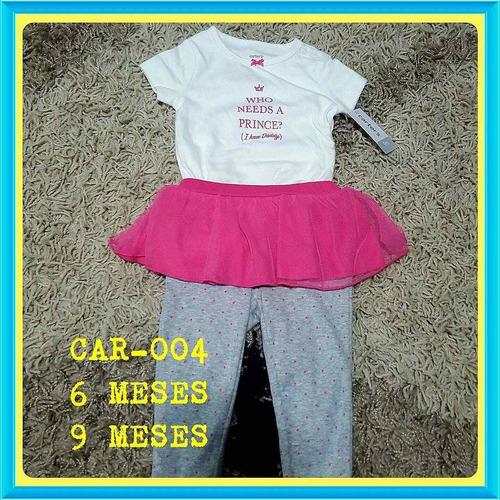 carters bailarina algodon bodys ropa  infantil