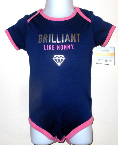 carter's body bebe feminina 12 meses novo original importado