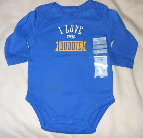 carter's body unisex bebe 3 meses novo original importado
