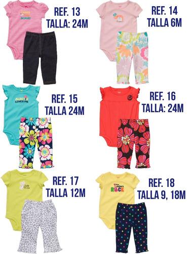 carters bodys prenda short pantalon bebe niña pijamas