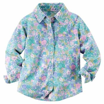 carters camisa estampada nena 2 años
