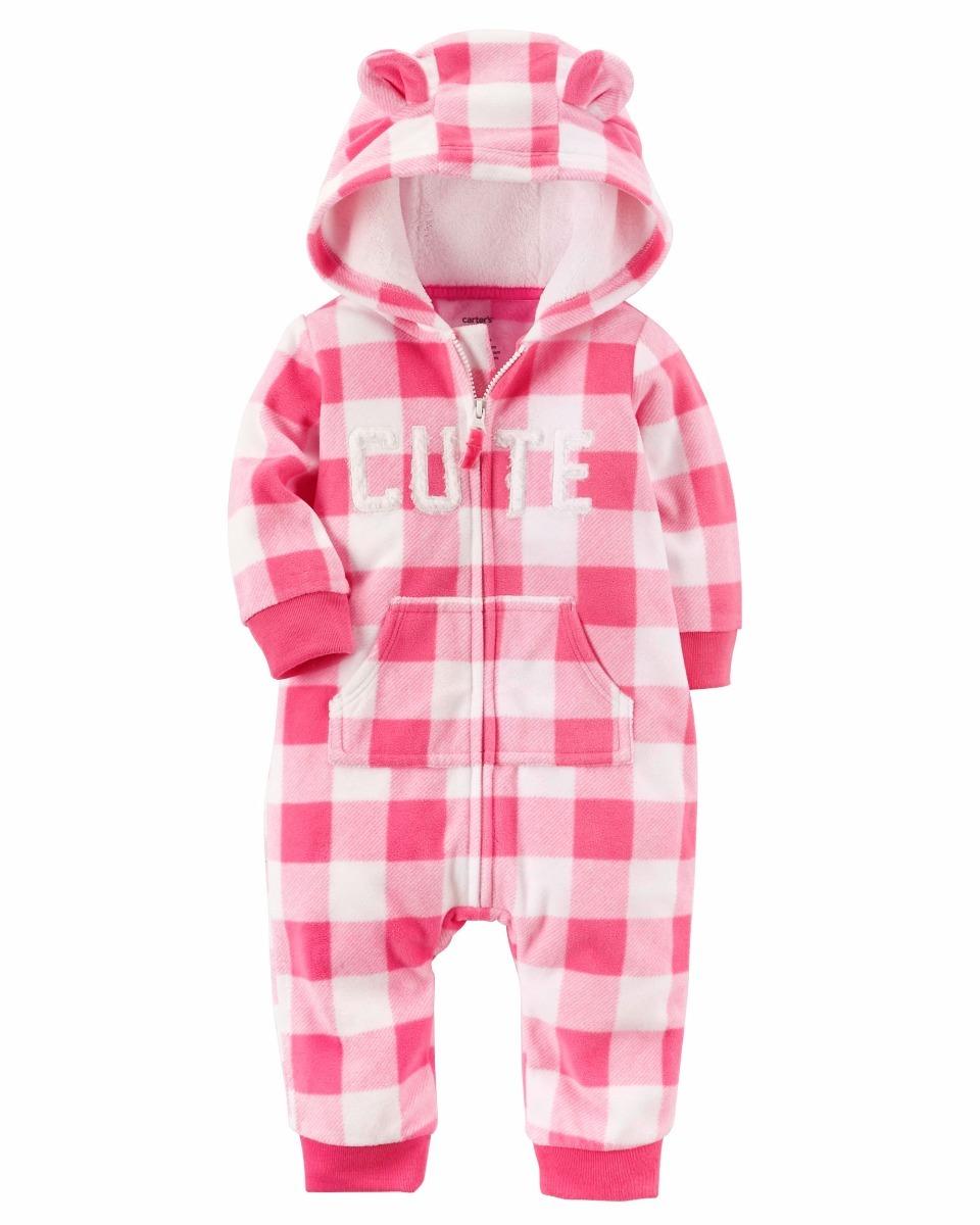 Carters Comando Memeluco Niñas Bebes Invierno Gatito Ropa Rs ... 306f6a2db8ef