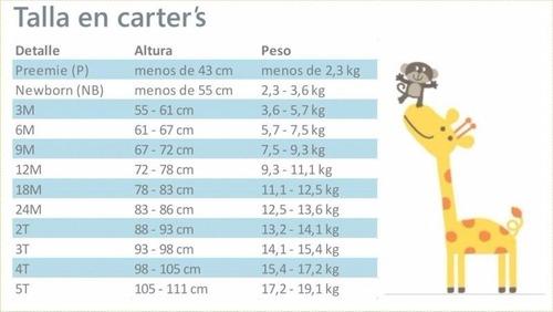 carters enterito micropolar pañalero sin patas nene, 3m