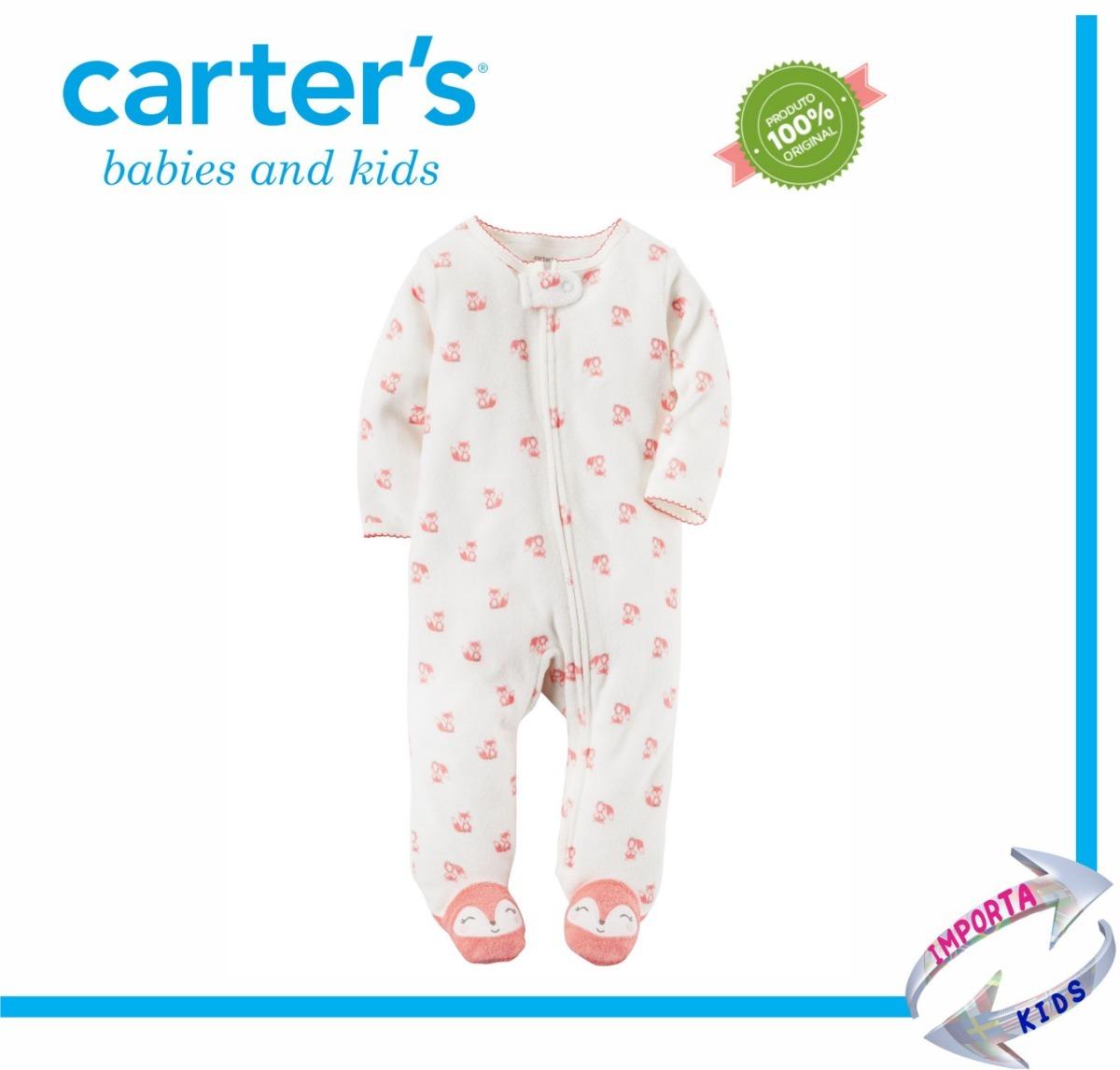 2fd2f58c9 Carter s Macacão - 00-09meses- Menina -original Carters - R  69