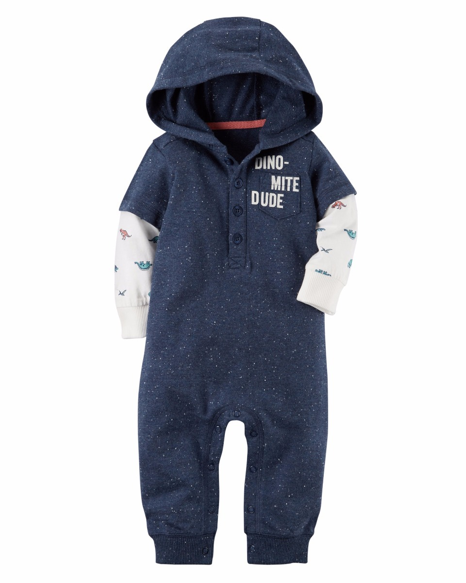 414edeb20 carters mameluco comando bebe niña niño invierno dinosaurio. Cargando zoom.
