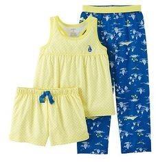 329b7c5366 Carters Modelo Pijama 3 Piezas Para Niña 2 Años Z10 -   279.00 en ...
