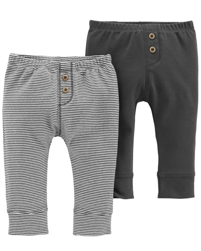 carters pack 2 pantalones bebés nenes varón set