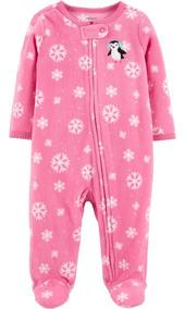 descuento hasta 60% diseño de moda discapacidades estructurales Carters Pijama Polar Con Cierre Bebé Nenas Pingüino