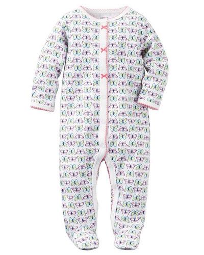 carters pijamas de piecesitos para niñas niños tallas meses