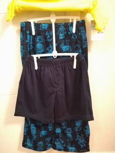 carters pijamas verano niño tallas 2 a 7.