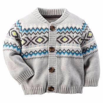 carters sweater tejido talles 12m