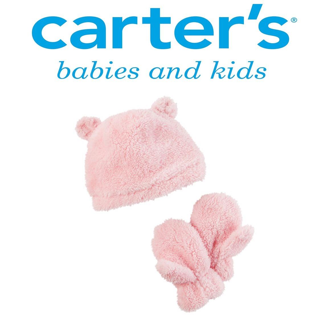 Carters® Usa 100% - Set Gorro + Guantes - Talle 2 A 4 Años -   789 ... a361e173f23