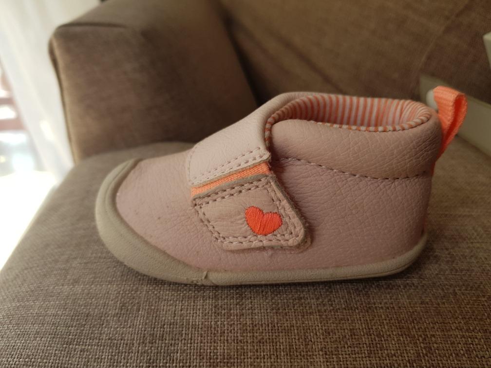 última moda el más baratas patrones de moda Carter's Zapatos Para Bebe 6a9meses-niña-primeros Pasos