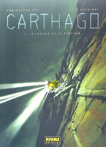 carthago. 1, la laguna de la fortuna(libro )