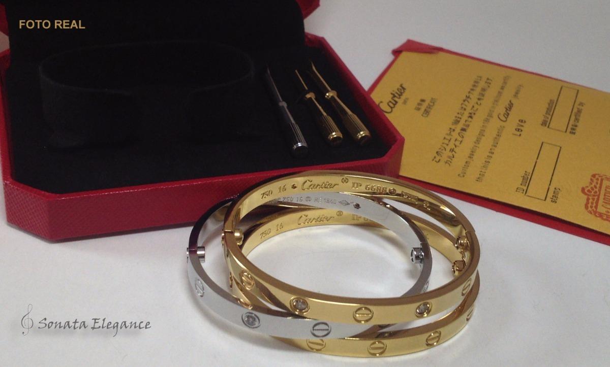 4b0cf3e6256 Cartie Love Bracelete Pulseira Sem Embalagem Unidade - R  149