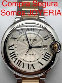 673a32cdd2b4 Cartier Ballon Bleu 29 Mm Acero Dama Original. - Joyas y Relojes ...