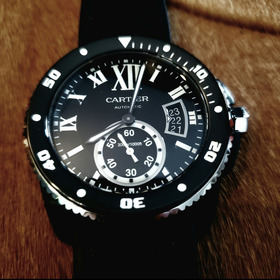 Cartier Calibre Diver Black