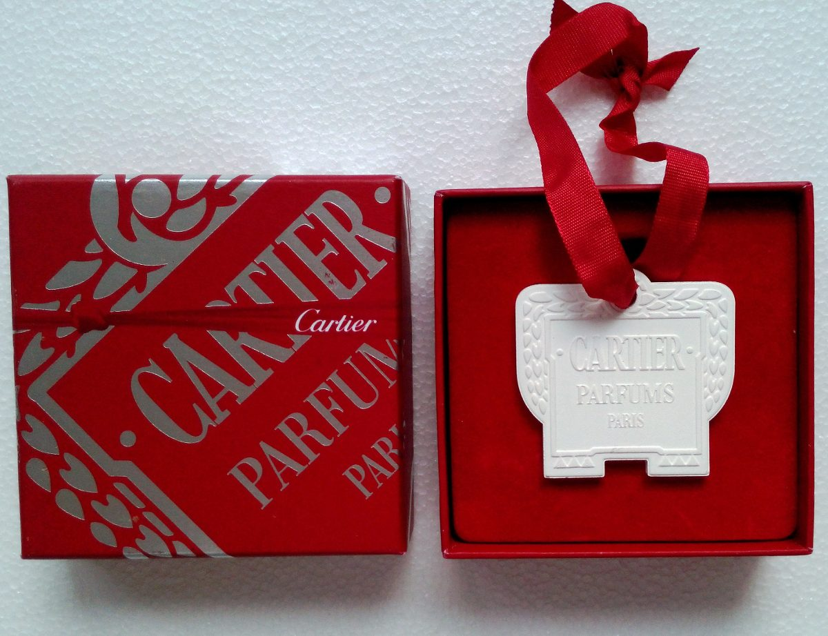 cartier porta perfume de ceramica paris fotos reales en mercado libre. Black Bedroom Furniture Sets. Home Design Ideas