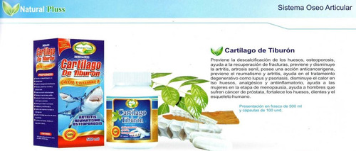 cartilago de tiburon cap x 100 ext x 500ml