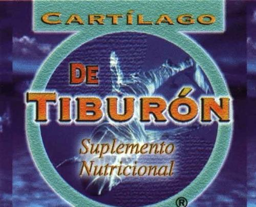 cartilago tiburon homeopatico 3 d - unidad a $41900