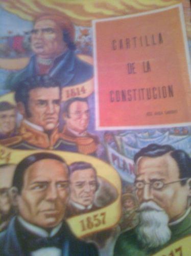 cartilla de la constitucion