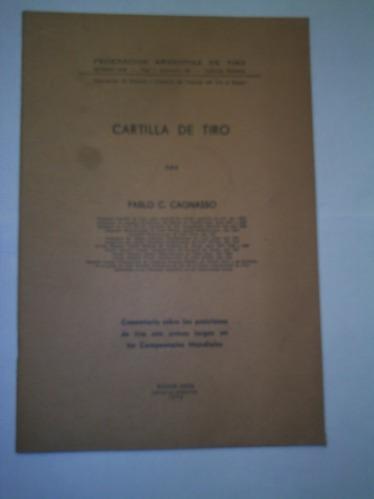 cartilla de tiro de la federacion argentina de tiro
