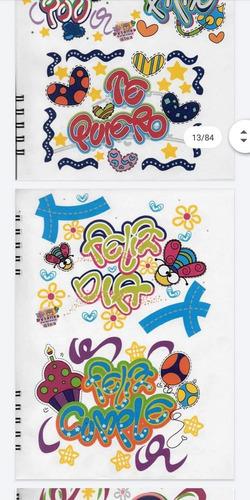 cartilla para practicar lettering y letra timoteo
