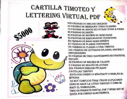 cartilla timoteo  virtual y pdf