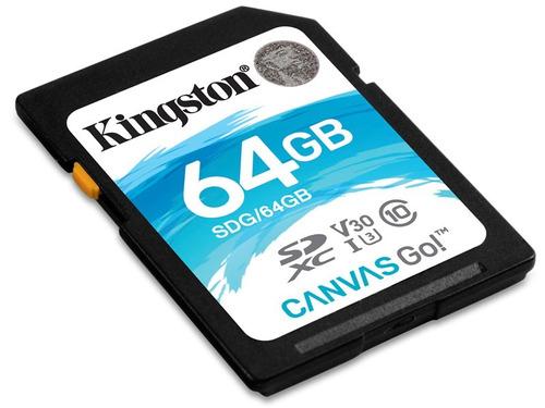 cartão 64gb kingston