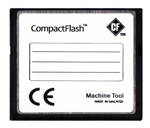 cartão compact flash 1gb industrial