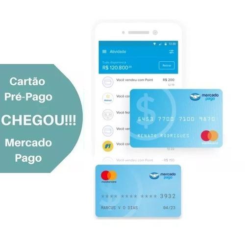 cartão de crédito pré pago mercado livre - convite pedido