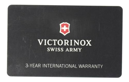 cartão de garantia relógio victorinox original
