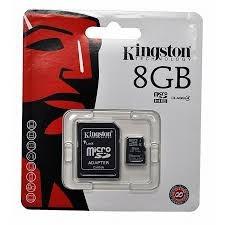 cartão de mem micro sd 8gb kingston  original