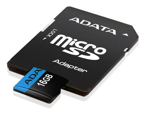 cartão de memória adata microsdhc 16 gb classe 10 adaptador
