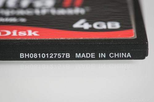 cartão de memória cf - scandisk 4 gb (ultra ii)