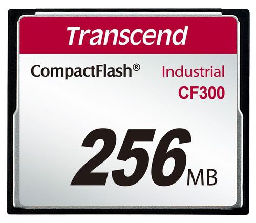 cartão de memória compactflash transcend 256mb industrial