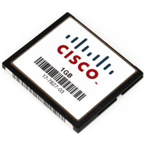 cartão de memória flash cisco 1gb semi-novo (frete grátis)