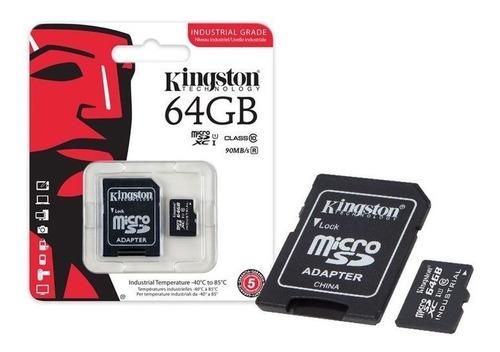 cartão de memória kingston 64gb classe 10 - envio imediato