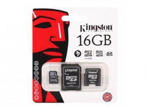cartão de memória kingston sdc4/16gb t 16gb sdhc class 4 fla