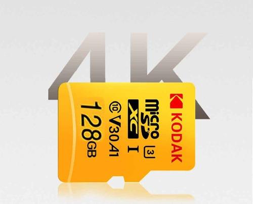 cartão de memória kodak microsdxc v30 a1 128gb | vídeo 4k
