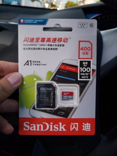 cartão de memória micro sd sandisk 400gb. 10 anos garantia
