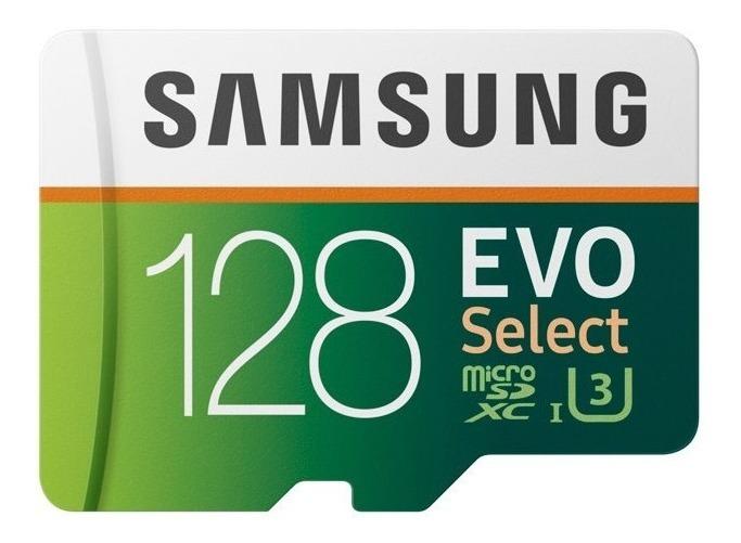 Carto De Memria Micro Sd Sdxc Samsung Evo 128gb 100mb S U3