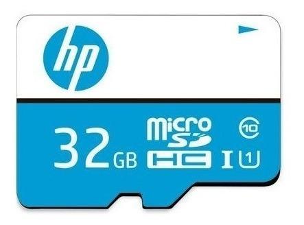 cartão de memória micro sdhc hp 32gb classe 10